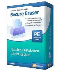 ASCOMP Secure Eraser 5.001 Pro + Crack