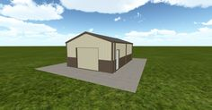 3D #architecture via @themuellerinc http://ift.tt/2huN9FK #barn #workshop #greenhouse #garage #DIY
