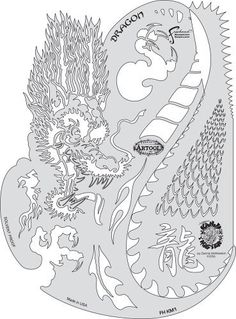 """Artool Freehand Airbrush Templates, Kanji Master Dragon by Iwata-Medea. $25.99. Versatile extras on every template - old school flames, real curves, circles, bullet holes, rips and tears, broken glass. Save time cutting frisket or acetate masks, no software or plotters needed. Three large (6"""" x 10"""") and three medium (5"""" x 8"""") templates per set. Precision, laser-cut templates for highly detailed effects. Solvent Proof great with both solvent and water-based paints..."""