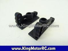 King Motor B116-117 Plastic Rear Buggy Wing Mounts (Set of 2)