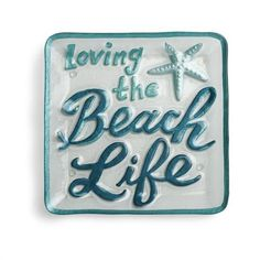 Shop here for the Love the Beach Serving Platter gift that will bring memories…