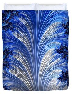 Digital fractal art, duvet cover, home decor for your bedroom #arankaarts #abstractart #digitalart #homedecor #fineartamerica #pixels Abstract Drawings, Abstract Art, Queen Duvet, Fractal Art, Tag Art, Basic Colors, Color Show, Marines, Fiber Art