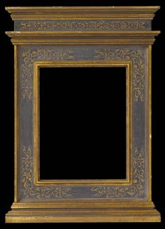 Replica of a 15th century Italian Tabernacle style frame. Gold leaf, egg tempera, and sgraffitto on bass wood.
