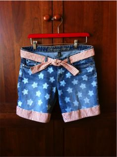 How to make patriotic shorts