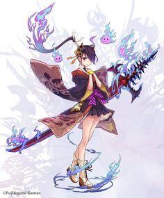 images for anime girl fantasy Character Concept, Character Art, Concept Art, Chibi, Anime Style, Anime Kunst, Anime Art, Evelynn League Of Legends, Anime Krieger