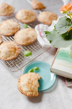 Pesto, Lentil and Basil Hand Pies | Elsa Brobbey
