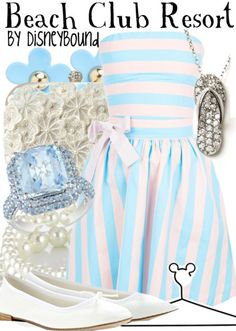 Cuteeee WDW Resort Disney Bound Outfit