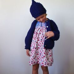 "https://www.cityblis.com/6024/item/16136 | pop corn set *ocean* - $149 by coquito | Hand knitted cardigan and matching beany, made of 100% soft merino wool. This ""pop corn"" set is as warm and cosy as can be.  Material: 100% argentinian merino wool  If you like this coat as much as we enjoyed doing it, we recomend you to wash it by hand. Real wool pieces don't n... 