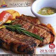 Disfruta un exquisito Churrasco Brangus, asado a la parrilla y acompañado de papa americana, arepa y chimichurri. 20% de descuento para suscriptores Pasaporte Vip  .   Más Información: http://www.angusbrangus.com.co/2015/03/26/alianzas-y-beneficios-para-nuestros-clientes-en-el-2015/ .    #Alianzas #restaurantesmedellín #gastronomía #recomendados #descuentos #ofertas #dondecomerenmedellín #LasPalmas #restaurante #Medellín #Colombia
