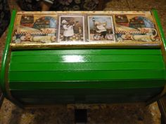panera decoupage verde