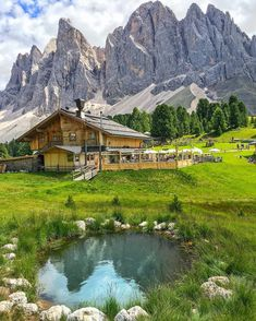 Odle refuge, Val Di Funes - Italy