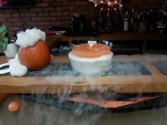 a Spooky Punch to kick off our spooktacular