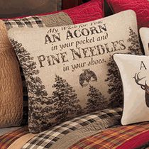 Cabin Retreat My Wish For You Pillow - OUT OF STOCK