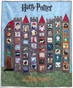 Harry Potter quilt.