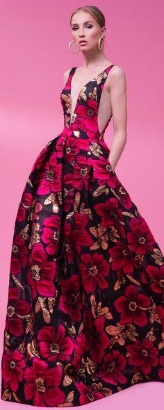 Rani Zakhem Primavera-Verão 2017 - Prêt-à-porter Gala Dresses, 15 Dresses, Elegant Dresses, Formal Dresses, Runway Fashion Outfits, Mademoiselle, Haute Couture Fashion, Beautiful Gowns, Dress Me Up