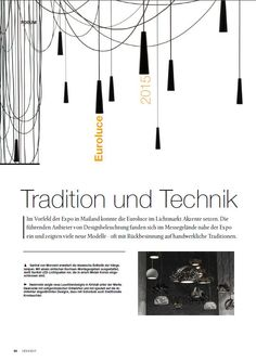 Santral collection design Filippo Mambretti  on HIGH LIGHT magazine 06/2015