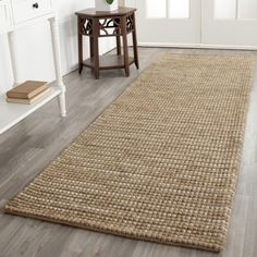 round jute entrance hall rug - Google Search