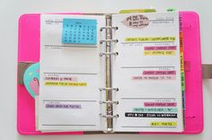 I seriously have a problem with planners.  In the last 2 days I ordered this original in fluro pink and the kate spade wellesley in red :)