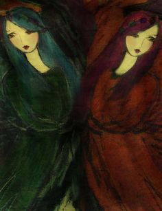 wildflowers by ~artisalma on deviantART reminds me of a friendship I have...