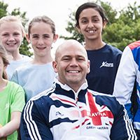 """""""The Premier Sport team is committed to coaching sport to all in a fun and inclusive way. Sport is all about enjoyment, and Premier Sport coaches lead the way in fun, safe sports coaching to allow you to be the very best that you can be. - Daniel Nobbs, shot putter in the paralympics."""