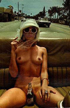 Helmut Newton 1976 For Playboy.