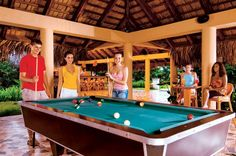 The Core Zone at Dreams Punta Cana Resort & Spa provides a fun place for teens to hang out while parents spend some much-needed time alone!