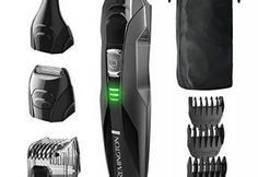 The Remington Lithium Powered Grooming Kit gives you the power of precision with complete versatility for all of your grooming needs. The Remington grooming kit includes: a full- size Man Groomer, Body Groomer, Beard Grooming Kits, Men's Grooming, Hair Removal, Remington Hair, Foil Shaver, Best Electric Shaver, Electric Razors