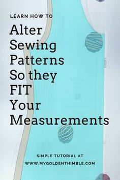 Sewing For Beginners Learning Sewing pattern drafting. Learn to Grade or Altering Sewing Patterns with this simple tutorial. Now you can use multiple sizes of one sewing pattern. Sewing Hacks, Sewing Tutorials, Sewing Crafts, Sewing Tips, Sewing Ideas, Pattern Drafting Tutorials, Fat Quarter Projects, Techniques Couture, Leftover Fabric