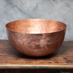 Copper Bowl [00847] - £68.00 : Nixey and Godfrey, Objects and Curiosities