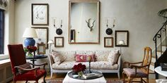 House Tour: A Manhattan Penthouse Flooded With Light And Carefully Curated Antiques - ELLEDecor.com