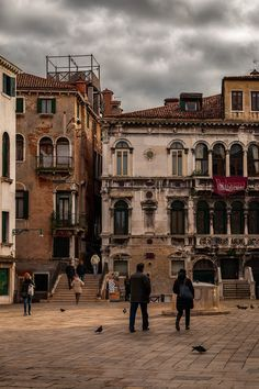 Campo S. Maria Formosa, Venice, Italy (via Around Venice)