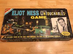 Vintage 1961 Transogram ELIOT NESS AND THE UNTOUCHABLES Board Game 99% Complete   eBay