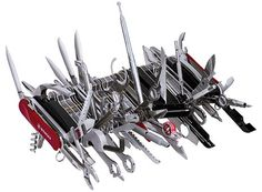 For the everyday carry fanatic! lol! 85 tool swiss army knife