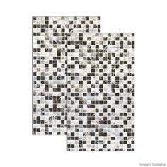 Revestimento Madrepérola HD 33x57cm lyara Triunfo - Telhanorte