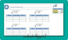 ExceLuisABN Matemática y Excel: Generador de ejercicios: raíces cuadradas con el a...