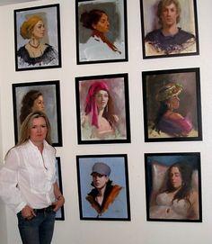 Johanna Spinks, California Fine Artist - Portraits, Still Life, Landscapes, Figurative Paintings in Oil