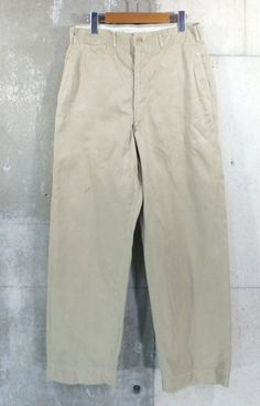 Vintage Clothing shop KAZZIN Time recycler  Chino pants generation United  States old clothes American casual old clothes men old clothes used ... 9bdd6392f