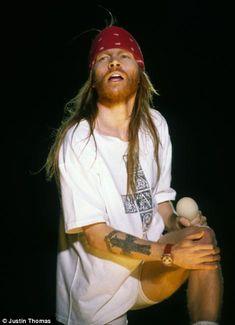 Guns 'n' Roses - Wembley Stadium, August 1991