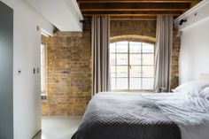 Warehouse apartment renovation by Inside Out Architecture.
