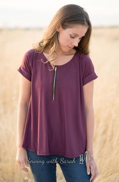 Zip it UP! Santa Fe Hack! – Sewing with Sarah