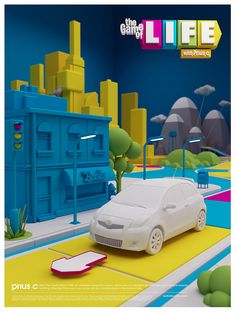 Toyota Prius C / Game of Life by Rizon Parein, via Flickr