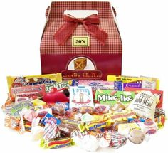 Candy Crate 1950's Retro Candy Gift Box - http://mygourmetgifts.com/candy-crate-1950s-retro-candy-gift-box/