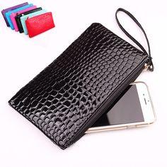 Pu Leather Casual Clutche Bag Women Black Clutch Bag Cell Phone Purse Evening Clutch Bags Ladies Hand Bags Hot Sale Purses Bolsa