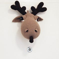 Hogar the Moose - my new pattern by Pepika, via Flickr