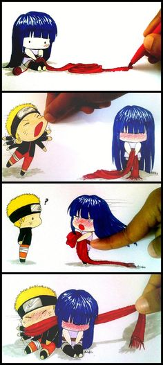 Dying of fluffiness! So freaking cute! Stripcomic Naruhina The Last by azizART23 on deviantART