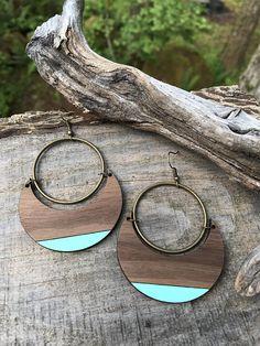 Wooden Earrings - Bold & Beautiful