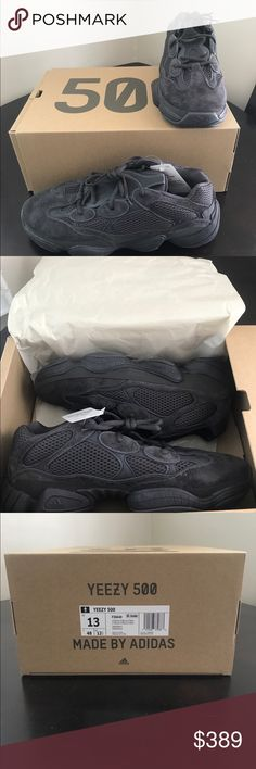 sports shoes 44748 38537 NWT - Yeezy 500 Utility Black NWT - Yeezy 500 Utility Black Bought at  Adidas store Yeezy Shoes Sneakers
