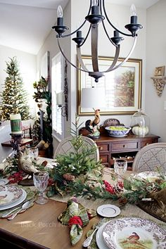 All Around the Dining Nook - Thanksgiving or Christmas Back Porch Musings