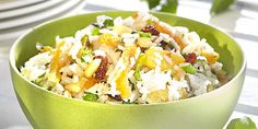 Kruidige rijstsalade met abrikoos