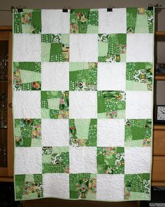 Crazy Nine Patch Quilt - Quilt for Kristof
